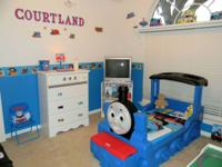 Little Tikes Thomas & Friends Train Toddler Bed plus