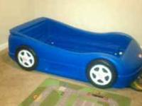 Little Tikes toddler car bed frame for sell at great