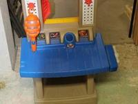 Little Tikes Tool Bench.  Two sides for lots of