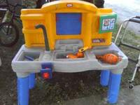 Little Tikes Tool Table with assorted tools. $20 or