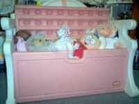 Just arrived today, Girls Little Tikes Toy Chest, in
