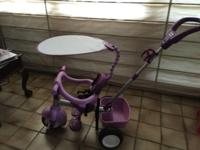 Little Tikes -3-in-1 Tricycle.-Removable sun shade