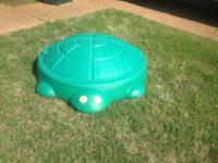 Little Tikes Turtle Sand Box $25.  My niece is