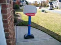 Little Tikes Basketball Goal.  Location: WR