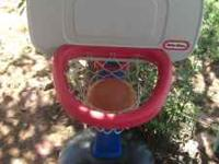 Little Tykes Basketball goal / set Selling because my