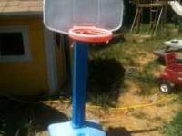 Little Tykes toddler basketball hoop.missing net. $20