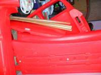 I have a RED little tykes car bed for sale. I dont even