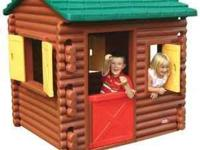 This children's outdoor playhouse from Little Tikes