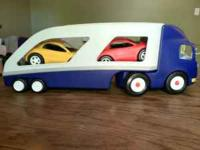 I have a wonderful Little Tykes Semi Truck-Trailer with