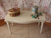 Cute little table that can be used anywhere! Come see