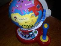 LITTLE EINSTEINS VTECH GLOBE LEARN & DISCOVER GLOBE