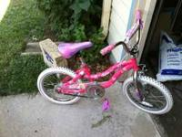 Selling my daughters bicycle. Asking $35 OBO. If