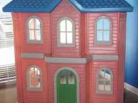 Awesome Little Tikes Barbie doll house. Very sturdy. In