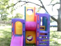 Little Tikes Climbing Towers Playground. We purchased