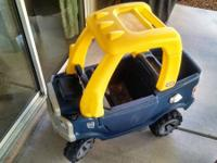 Offering our Little Tikes Cozy Truck. Just like the
