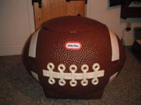 Little Tikes Football Toy Box / Cooler This Little