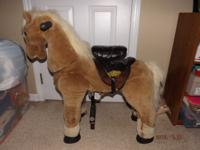 Little Tikes ~Giddy Up N' Go Pony ~ This is a Ride on