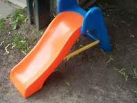 medium sized sliding board made by little tikes. little