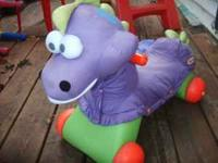 good condition purple dragon toy. have to sell because