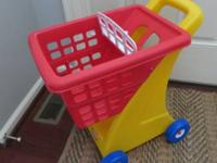 Little Tikes shopping cart, excellent condition! $15