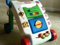 Little tikes walker in excellent condition. Have the