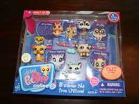 NEW IN BOX! LITTLEST PET SHOP, 5 WELCOME PETS FROM
