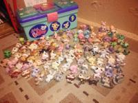 Offering entire Littlest animal shop collection. Total