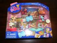 NEW IN BOX! LITTLEST PET SHOP POSTCARD PETS 3-PACK