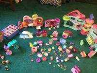 Excellent collection of Play Sets, Accessories, Lots of