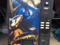 Utilized Live Bait Vending Machine, refrigeration works