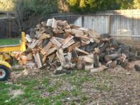 I have 2.5 cords of live oak firewood. It is chopped,