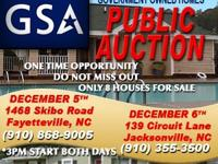 GSA will certainly be hosting a live auction event for