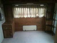 I have a 1 bedroom trailer for rent on my horse ranch.