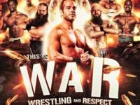"VIP Wrestling presents ""THIS IS WAR"" on Friday May June"
