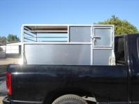 Great for hauling small livestock: goats / sheep /