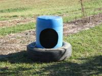 Livestock mineral feeders for sale. Indestructible