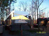 1982 32' Neckover pipe trailer. 6ft. Wide Brand new