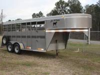 2006 Model - 16 Ft. Goosneck Stockman - K & K Trailer 6