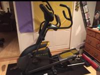 Perfect condition LivesStrong elliptical machine from