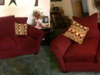 I have a beautiful set consisting of a couch and love