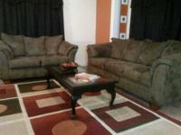 Really great living room set for sale ... couch and