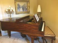 "Baldwin Living Room Grand Piano, 5' 8"" Model R. Serial"