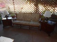 The couch, chair and coffee table are from Ethan Allen,