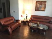 The set includes small sofa (Loveseat), coffee table