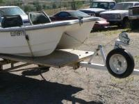 Livingston 10' Dual Haul Fiberglass Boat Trailer & &