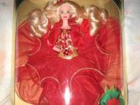 Lizzie High sitting Santa circa 1993 Mint Condition No