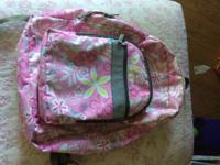 Nice LL Bean Backpack and 3 lunch boxes.  Back pack has
