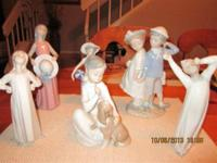 Llado Retired porcelain figurines in mint condition.