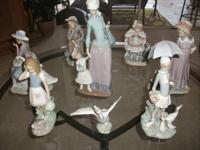 LLADRO COLLECTION ALL FOR $1375 or WILL SELL ALL or