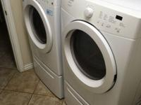$900 obo 2012-2013 affinity washer & gas dryer with